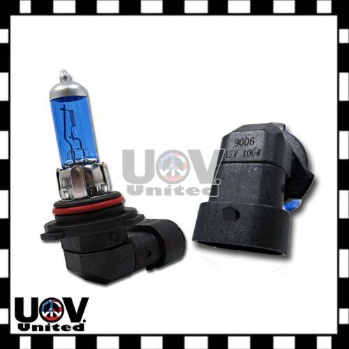 2 x 9006 HB4 12v 100w 5000k White Power Gas Xenon Halogen Fog Driving Light Bulb