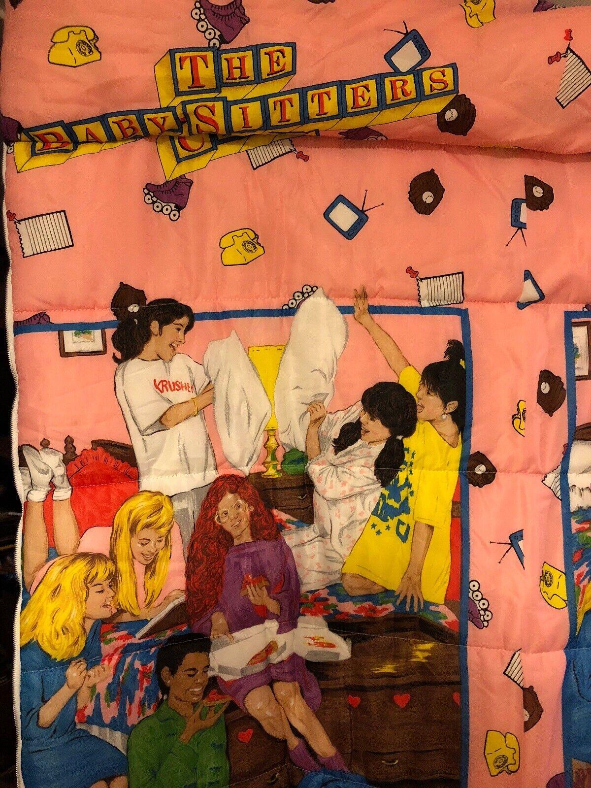 Les baby-sitters Club Sac de couchage années 90 filles chapitre livres 30  X 67  lumineuse NEUF