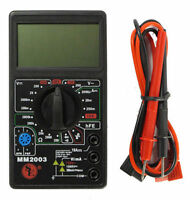 Palm - Size Handheld Digital Multimeter W/ Big Lcd Screen Mm2003