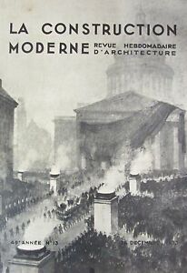 Architecture-Magazine-Construction-Modern-No-No-13-of-1933-Concours-Funeral