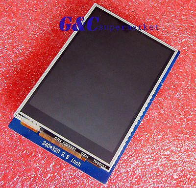 "2.8"" TFT LCD Display Touch Screen Module with SD Solt Arduino UNO TOP M63"