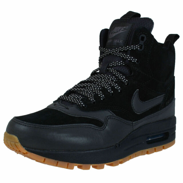 detailed look 98b48 d3981 NIKE WOMENS AIR MAX SNEAKERBOOTS BLACK 685267 003 SIZE 6 (23CM)