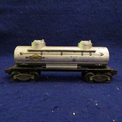 SEE PICS LIONEL  6465  Sunoco Tank Car  O Gauge Trains