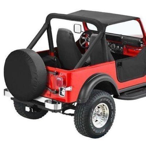 Bestop Black Strapless Bikini Top For 80-86 Jeep CJ-7 #52518-01