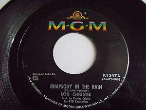 Lou-Christie-Rhapsody-In-The-Rain-Trapeze-45-1966-MGM-Vinyl-Record