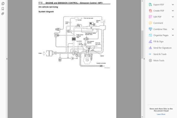 Official Workshop Repair Manual Mitsubishi Lancer Evolution Viii 8. Official Workshop Repair Manual Mitsubishi Lancer Evolution Viii 8 20032005 Hover To Zoom. Mitsubishi. 2005 Mitsubishi Lancer Emission Control Diagram At Scoala.co