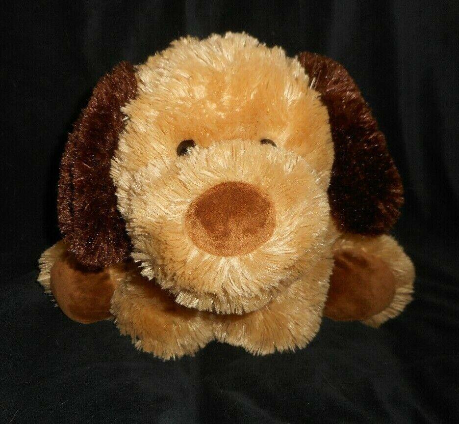 18  BIG TEDDY HERMANN GERMANY FLOPPY BROWN PUPPY DOG STUFFED ANIMAL PLUSH TOY