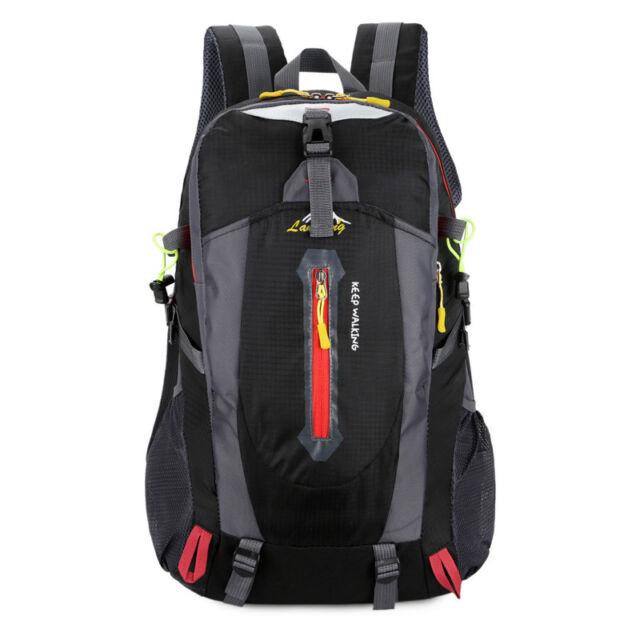 50L Waterproof Backpack Shoulder Hiking Bag Pack Outdoor Camping Travel  Rucksack a3129114df9ef