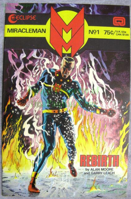 Miracleman #1 Aug 1985 Eclipse Copper Age Comic Alan Moore UNREAD BIG PICS!