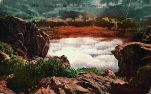 Sunrise From Summit Mount Tamalpais California CA Vintage 1900's 1910 Postcard