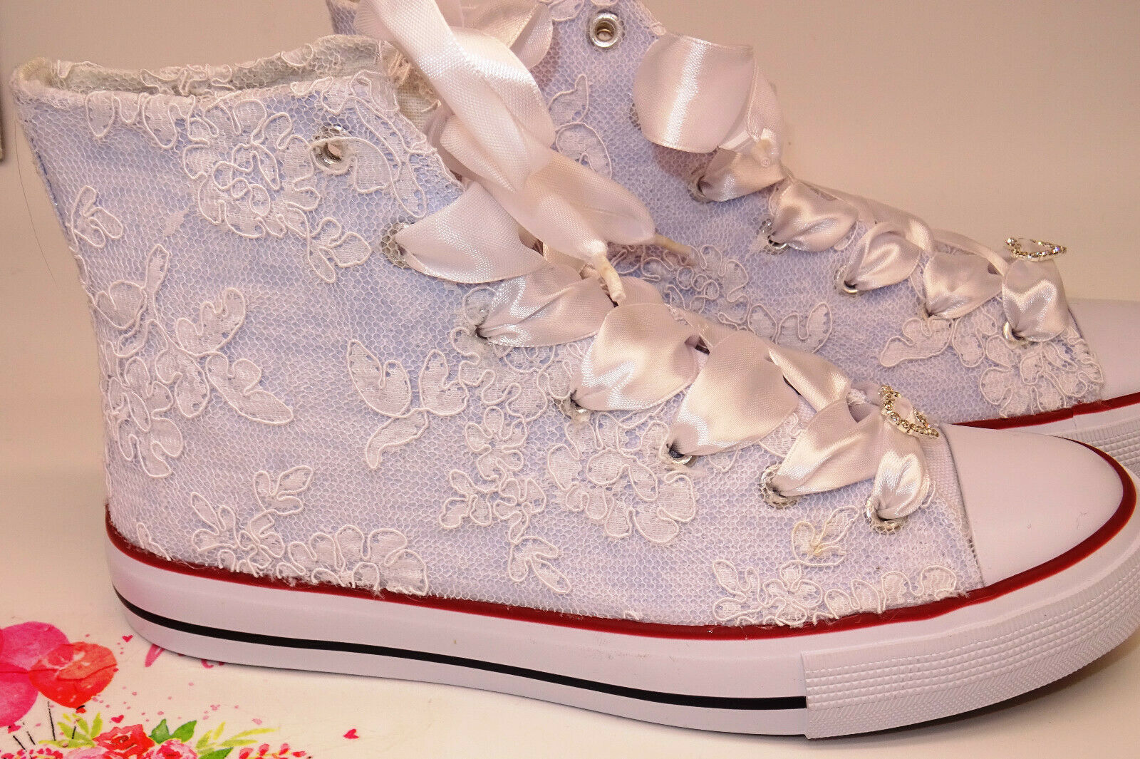 Bridal Shoes Wedding Shoes Sneaker Size 36