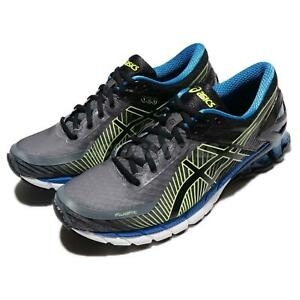 Asics-Gel-Kinsei-6-Carbon-Black-Blue-Men-Running-Shoes-Sneakers-T644N-9790
