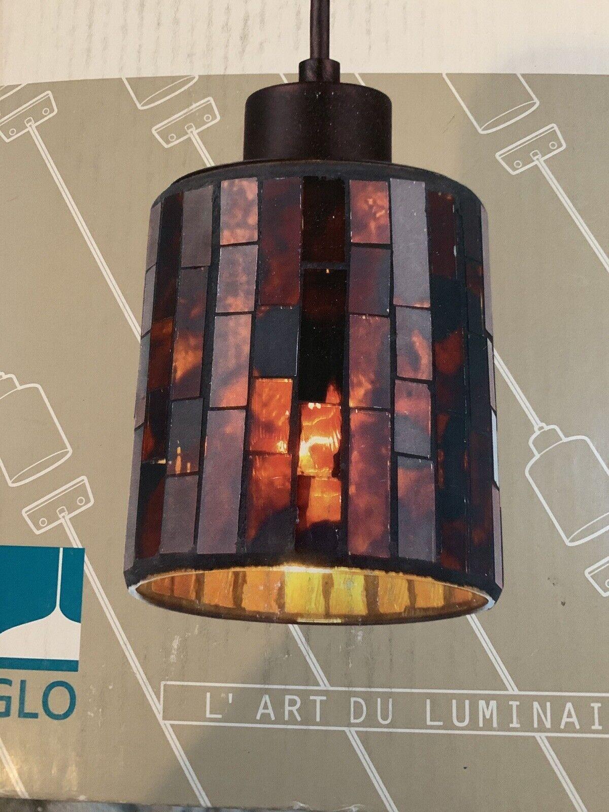Troya Mosaic Glass Mini Pendant Hanging Lamp For Sale Online Ebay