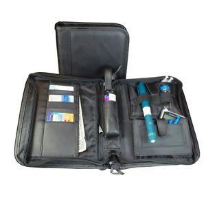 Image Is Loading Beticbag High Profile Diabetic Organizer Supply Bag Black