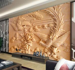3D Statue Petal 432 Wallpaper Murals Wall Print Wallpaper Mural AJ WALL AU Kyra