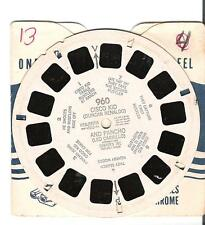 DR-54 Viewmaster reel - Preview Demo - The World at your Fingertips