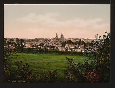 Art General View Bayeux A4 Photo Print To Invigorate Health Effectively