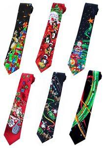 Jerry Garcia Grateful Dead Christmas Holiday Neckties Santa Tie ...
