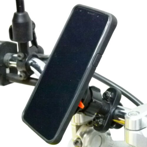Motorcyle Handlebar U-Bolt Kit TiGRA FITCLIC Neo LITE Case for Samsung Galaxy S8