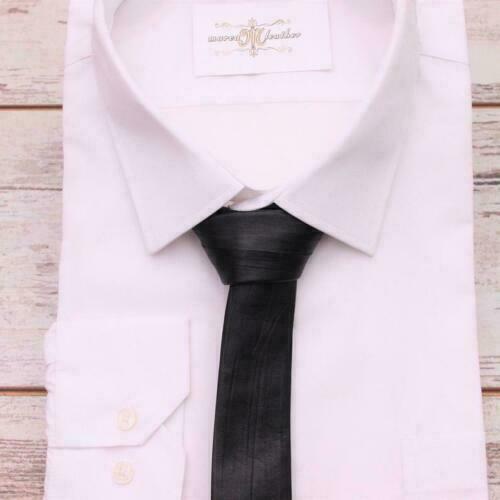 100% Echtes Weiches Handgefertigt Lammleder Designer Sammlung Krawatte für