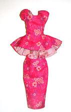 Barbie Sized Silkstone Fashion Floral Print Top/Skirt For Barbie Dolls ske48