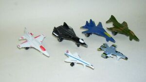Micro-Machines-Airplanes-Jets-Lot-of-6-Vintage-Tootsie-Toys