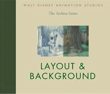 Layout and Background by Walt Disney Animation Research Libr Staff, Disney Book Group Staff and John Lasseter (2011, Hardcover)