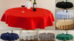 "High Quality Tablecloth /""AIDA/""  Round,Oblong  avail 4 siz 9 col."