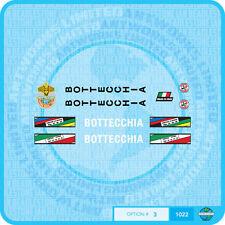White n.890 Bottecchia 989 Bicycle Decals Stickers