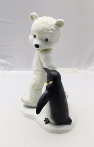 Kaiser Figurine Porcelain Hand Painted Limited Edition Bear /& Penguin