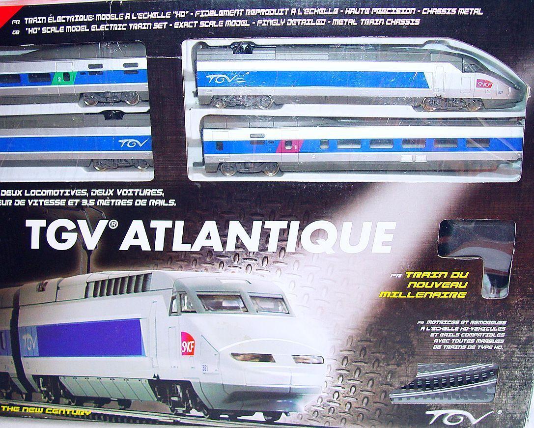 Mehano HO 1 87 francesi SNCF ad alta velocità TGV ATLANTIQUE 4 pezzi più unità Nuovo di zecca con scatola