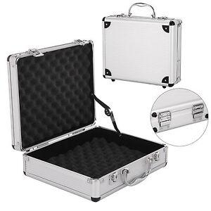 Aluminium-Pistol-Gun-Case-Hard-Flight-Case-Tool-Foam-Portable-Secure-Storage-Box