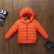 88db813a7 T8 Girl Boy Baby Winter Warm Coat Kids Jacket Snowsuits E6f9 Orange ...