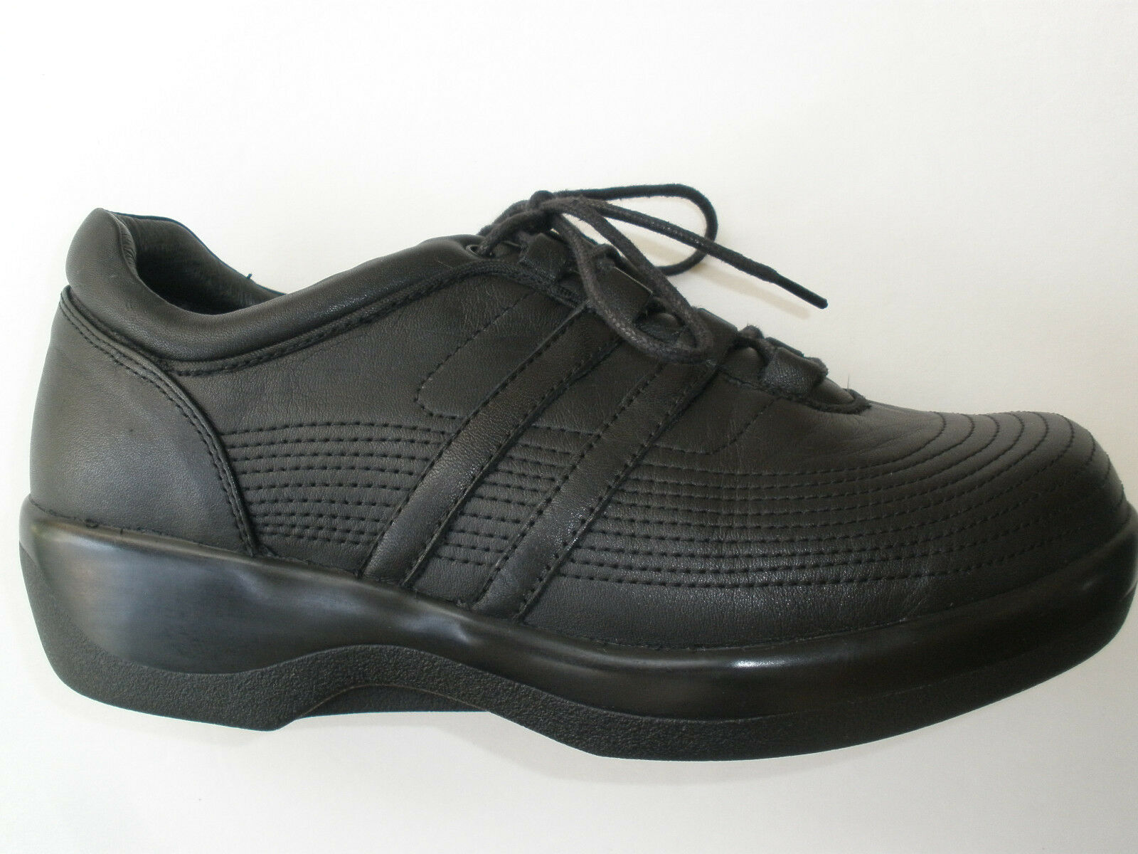 AETREX AMBULATOR LEATHER WMNS CASUAL TERPEUTIC DIABETIC SHOES US 8 XW UK 6  129