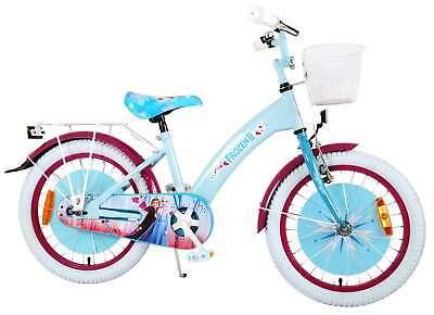 Kinderfahrrad Disney Frozen 2-18 Zoll Mädchen Fahrrad Rücktrittbremse Korb