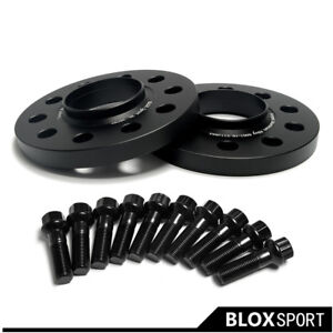 (4p) 15mm Thick PCD5x100 5x112 CB57.1 Wheel Spacers for VW Golf Audi A3 A4 A5 A7