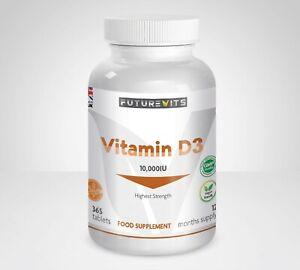 La-vitamina-D3-10000iu-piu-alta-resistenza-10-000iu-365-Compresse-futurevits-UK