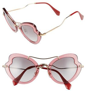 Image is loading Miu-Miu-SMU-11R-Scenique-Butterfly-Sunglasses-in- 116539d38c
