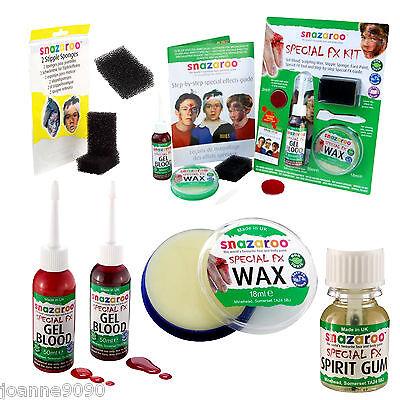 Professional Snazaroo Special Fx Wax Moulding Scars Prosthetics Halloween Kit