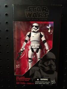 "First Order Stormtrooper 6/"" The Black Series STAR WARS #04 Hasbro NEW MIB"
