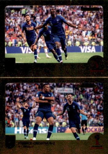 Final Goals Panini FIFA365 2019 Pogba // Mbappe Sticker 424 a//b