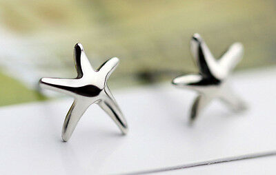 Ernst Ohrstecker Ohrring Seestern 925 Sterling Silber Produkte HeißEr Verkauf
