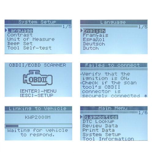 OBD OBD2 Automotive Scanner KW590 Car Diagnostic Tool Code Reader Auto Scanner