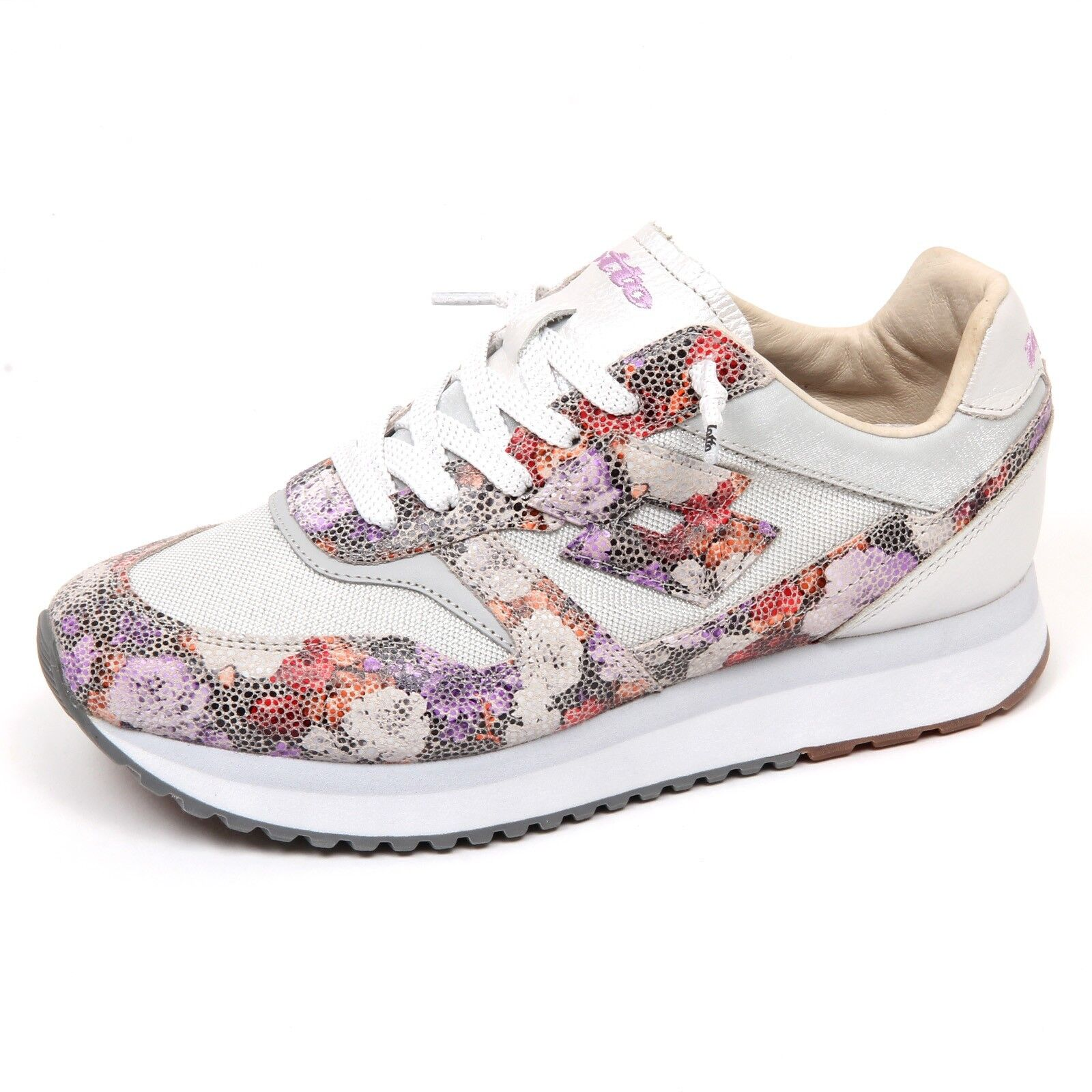 E9316 sneaker donna grey LOTTO LEGGENDA scarpe SLICE FLOWERS shoe woman