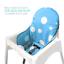 Ikea Antilop Hochstuhl Sitzbezüge /& Kissen von Zama Waschbar Faltbarer Babyhoch