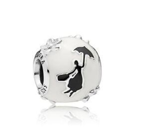 925-Sterling-Silver-Mary-Poppins-Silhouette-Charm-Fit-European-Bracelet