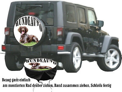 Rottweiler Hund Motiv Auto Jeep SUV Truck Reserveradabdeckung Bezug Geschenkidee
