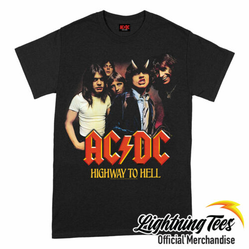 Official AC//DC Highway To Hell ACDC Band T-Shirt