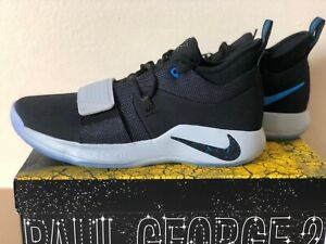 new style 3ddfc 2d04c Nike PG 2.5 Photo Blue BQ8452-006 Paul George Black Mens ...