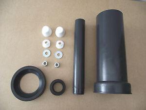 wand wc anschlu garnitur 110 110 300mm lang mit lippendichtung ebay. Black Bedroom Furniture Sets. Home Design Ideas